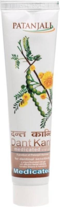 Patanjali Dant Kanti Medicated Toothpaste(100 g)