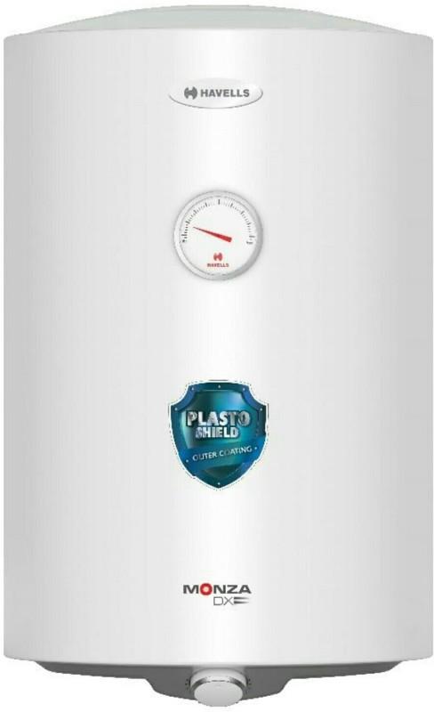 Havells 15 L Storage Water Geyser (Monza Dx, White)