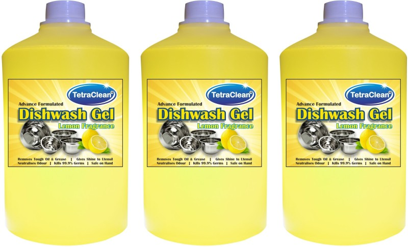 TetraClean Dish Wash Gel Dishwashing Detergent(3 L)