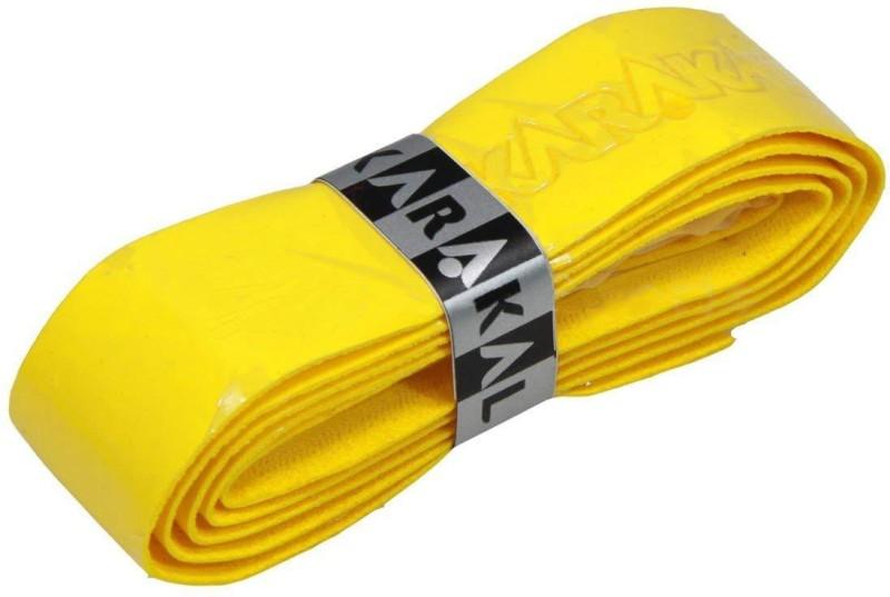 KARAKAL PU Supergrip Super Tacky(Yellow, Pack of 2)