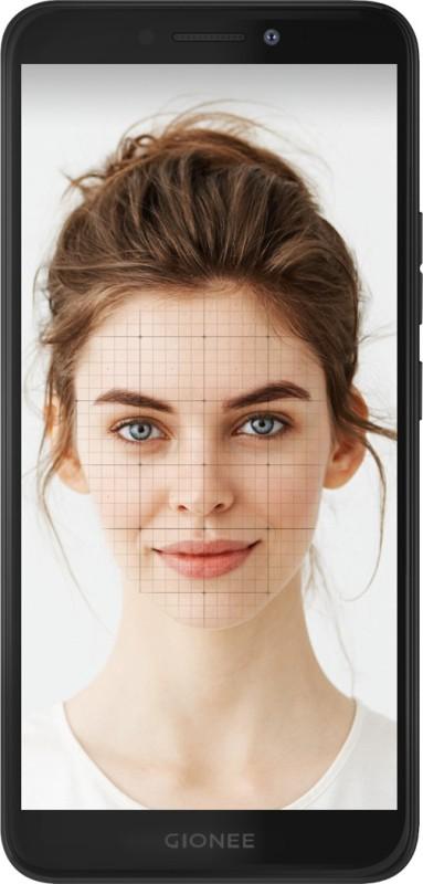 Gionee F205 (Black, 16 GB)(2 GB RAM)