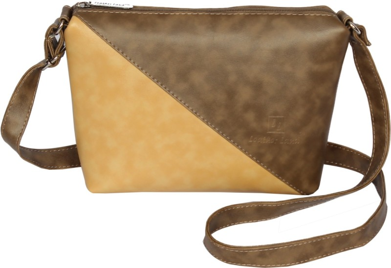 Leather Land Multicolor Sling Bag