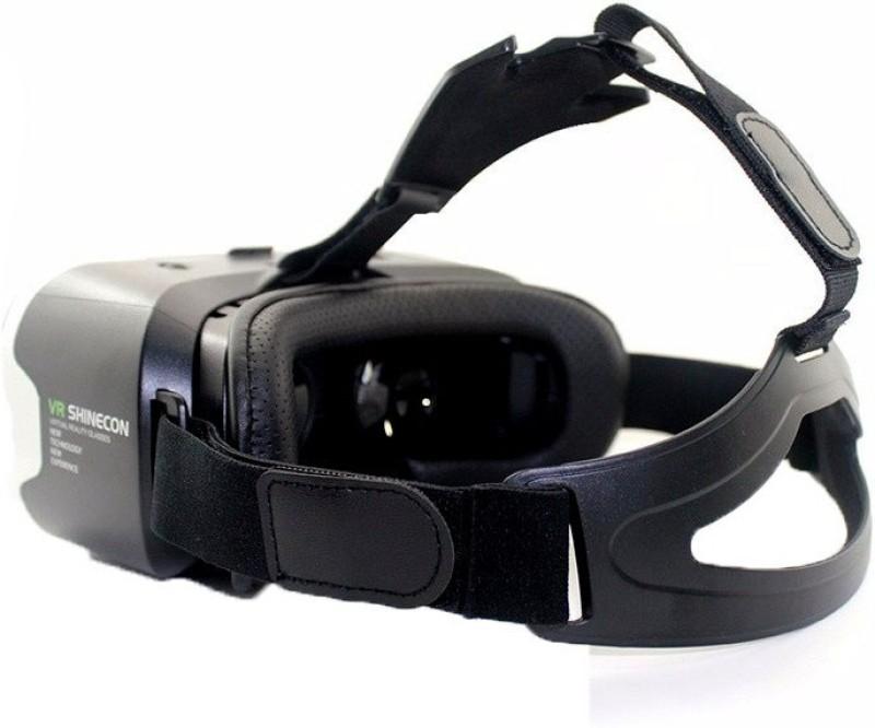 BUY SURETY VR Shinecon Original Virtual Reality 3D Glasses VR Google Cardboard Headset Box Head Mount for Smartphone 4-6' Mobile Phone(Smart Glasses)