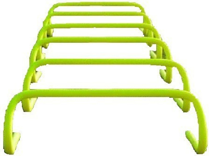 THE UNIVERSE SPORTS TUS090420182 PVC Speed Hurdles(For Adults, Children Pack of Pack of 6)