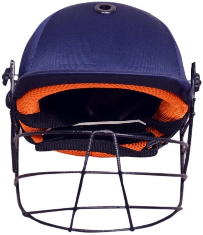 SPORTSHOLIC New Super Cricket Helmet With Adjustable Back Strap For Men Women Cricket Helmet(Blue)
