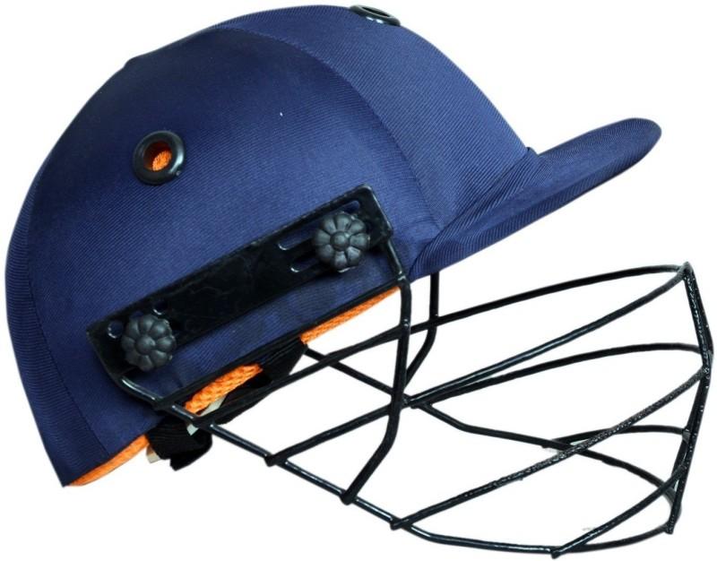 SPORTSHOLIC New Full Cricket Helmet With Adjustable Back Strap For Men Women Cricket Helmet(Blue)
