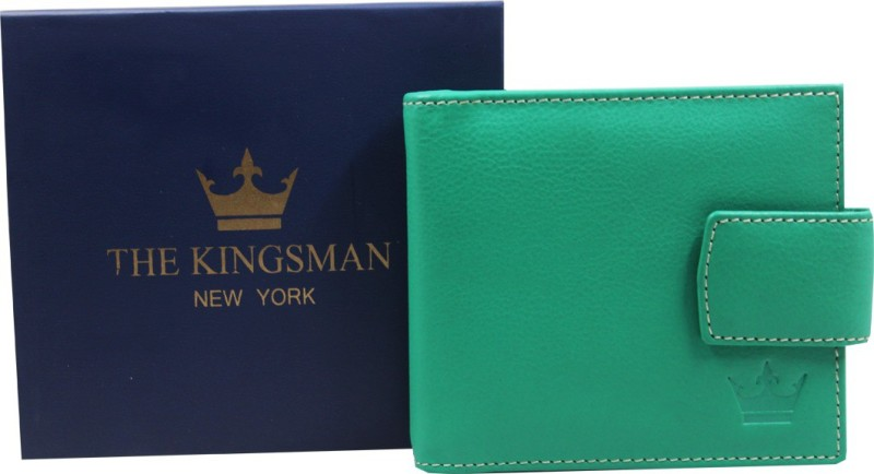 THE KINGSMAN NEWYORK MC 002 Leather Money Clip(GREEN)