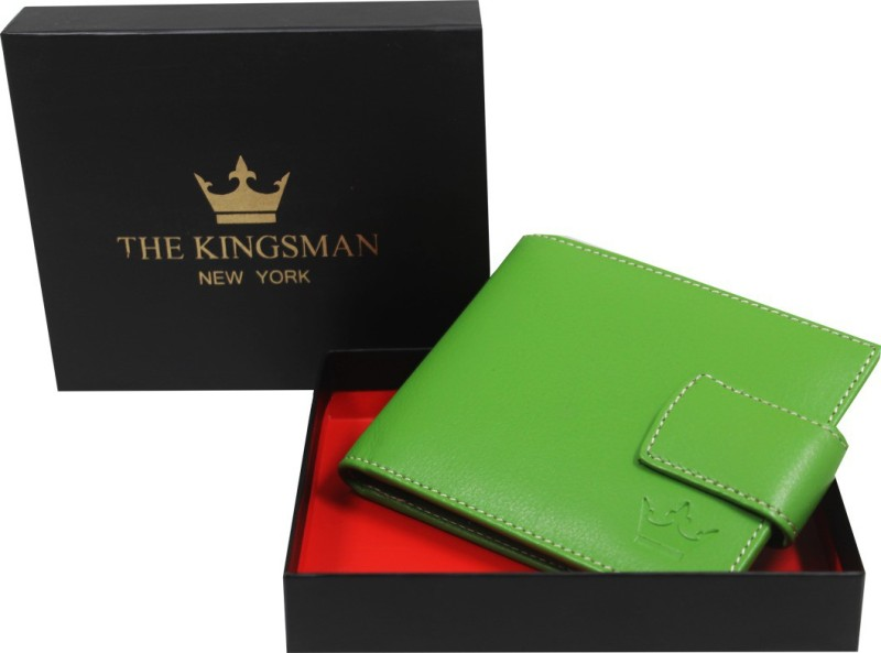 THE KINGSMAN NEWYORK MC 003 Leather Money Clip(GREEN)
