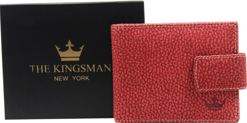 THE KINGSMAN NEWYORK MC 001 Leather Money Clip(RED)