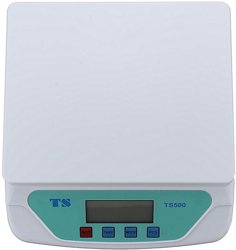 SBTs Compact Scale With Backlight TS-500v 30 kg with Adaptor Digital Multi-Purpose Kitchen Weighing Scale(White)