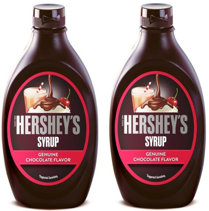 Hershey's Chocolate Syrup (Pack Of 2)(623 g, Pack of 2)