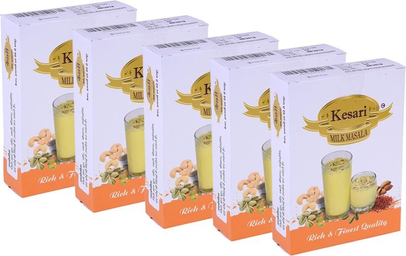 Kesari Rich & Finest Quality Milk Masala Combo(5 x 50 g)
