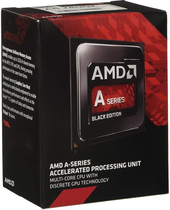 AMD 3.5 FM2 A6 7400K Processor(Grey)