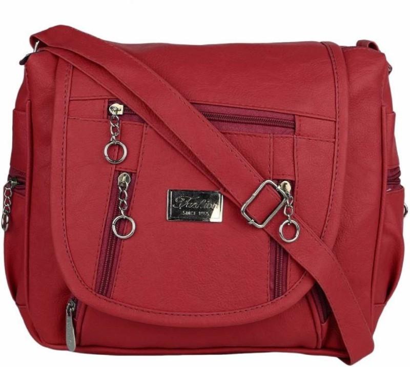SAHAL Maroon Sling Bag