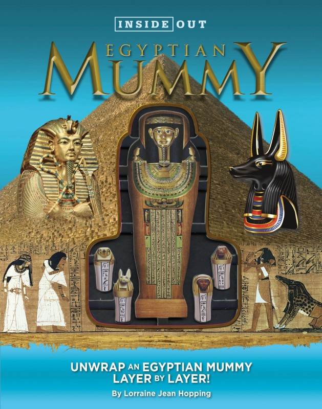 Inside Out Egyptian Mummy(English, Hardcover, Hopping Lorraine Jean)