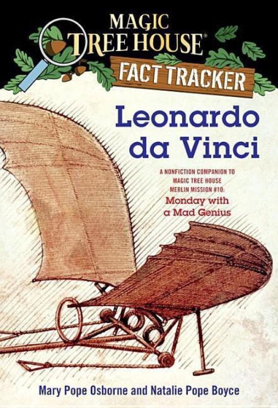 Magic Tree House Fact Tracker #19 Leonardo Da Vinci(English, Paperback, Boyce Natalie Pope)