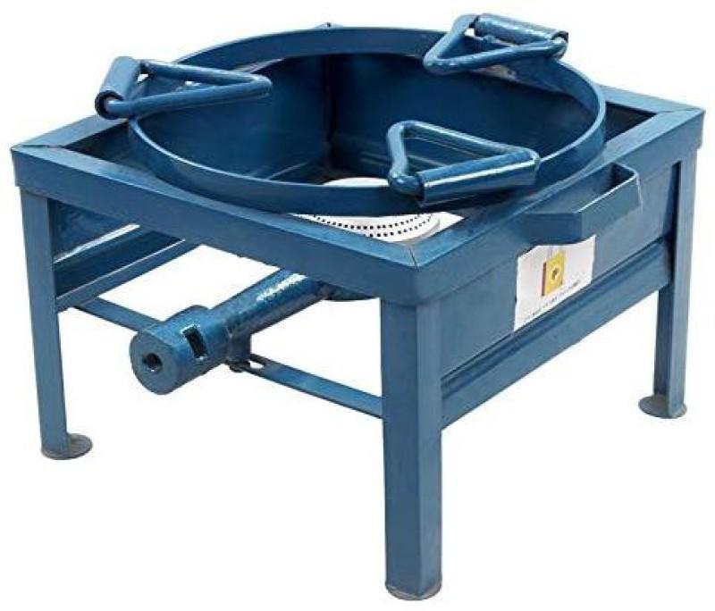 CAY Single Burner 10x10 inch Ring Kada Manual Gas Stove/Bhatti Iron Manual Gas Stove(1 Burners)