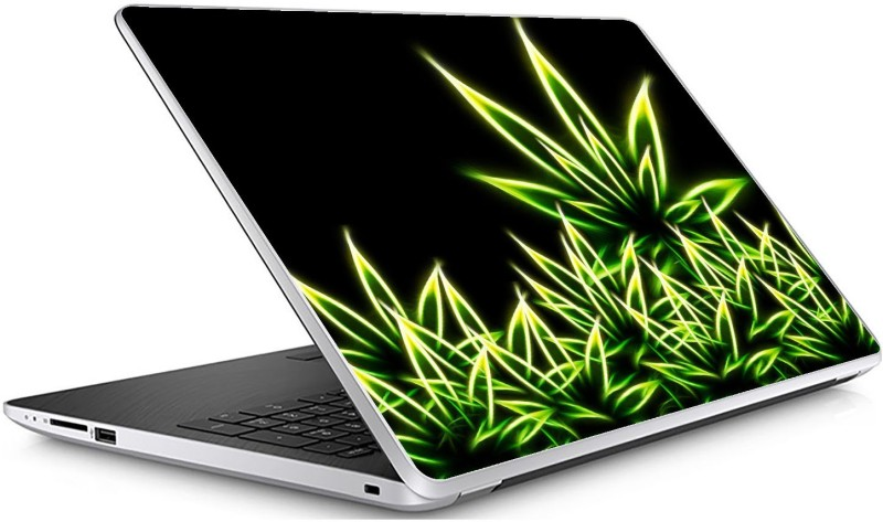 GADGETS WRAP Universal Weed Art Skin For 15.6 Inch Laptop (15x10 inch) Vinyl Laptop Decal 15.6