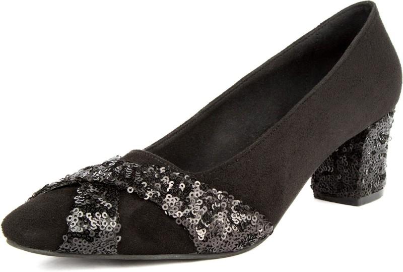 Soles Women Black Heels