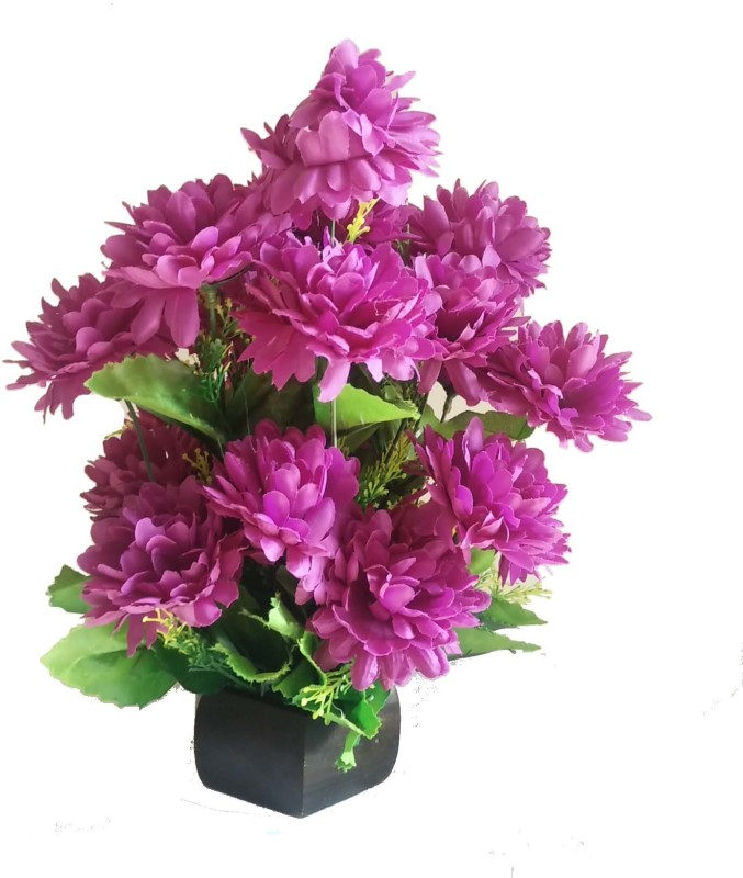 Kaykon Artificial Flowers Pot For Home Decoration 15 Inch Purple Carnations Artificial Flower With Pot 15 Inch Pack Of 1 Buy Online In Grenada At Grenada Desertcart Com Productid 166442143
