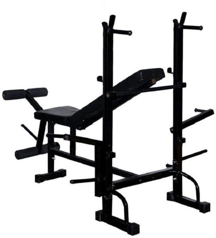 SPANCO 8 in 1 ( With 310 Kg. Holding Capacity ) Multipurpose Fitness Bench