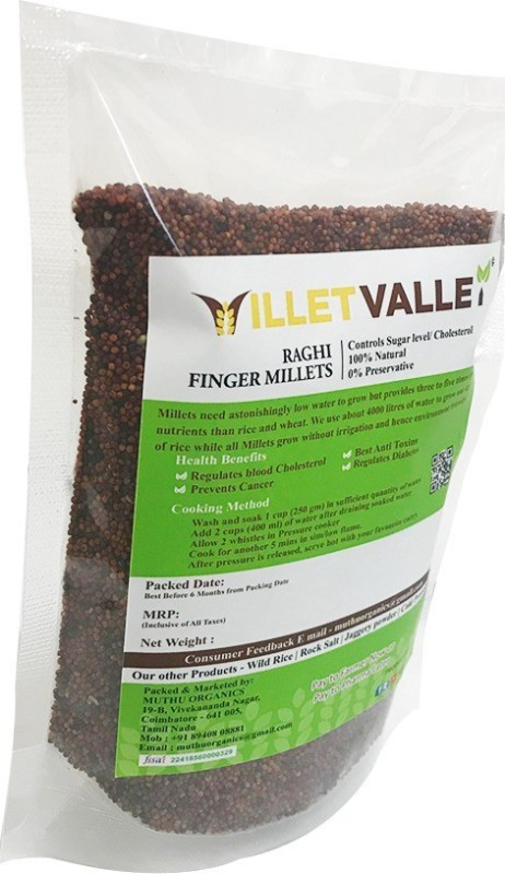 millet valley RAGHI MILLET 4.5KG UNPOLISHED Finger Millet(4500 g)