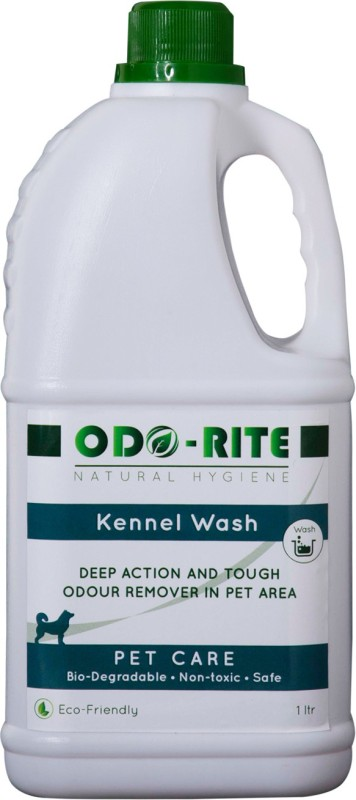 Odo-Rite Kennel Wash/Pet Floor Cleaner With Oduor Neutralizer Pet Cage Cleaner(1000 ml)