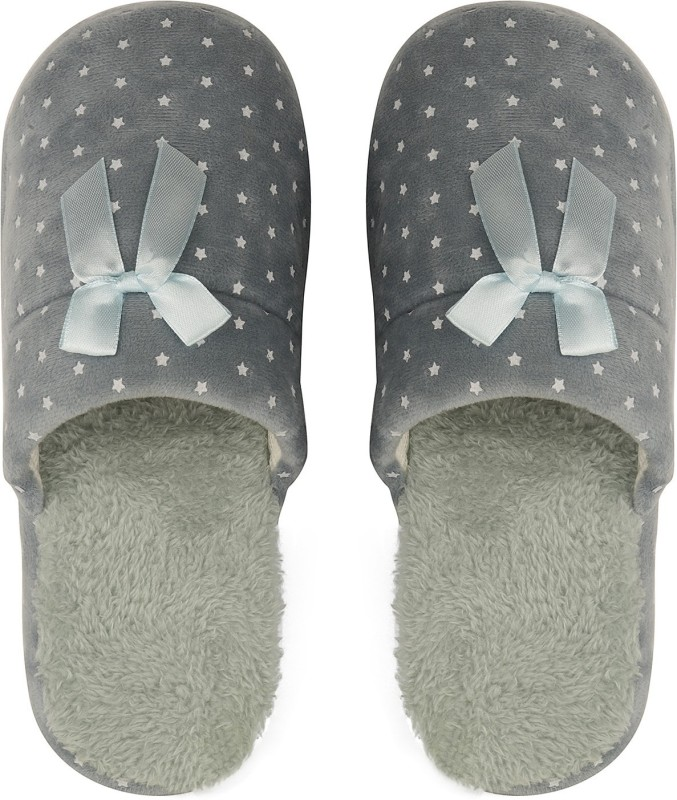 DRUNKEN Slipper For Women's Flip Flops House Slides Home Carpet Green Sandals Slides
