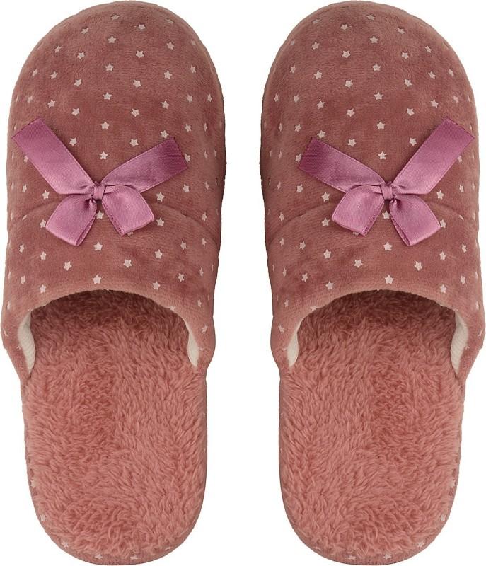 DRUNKEN Slipper For Women's Flip Flops House Slides Home Carpet Red Sandals Slides