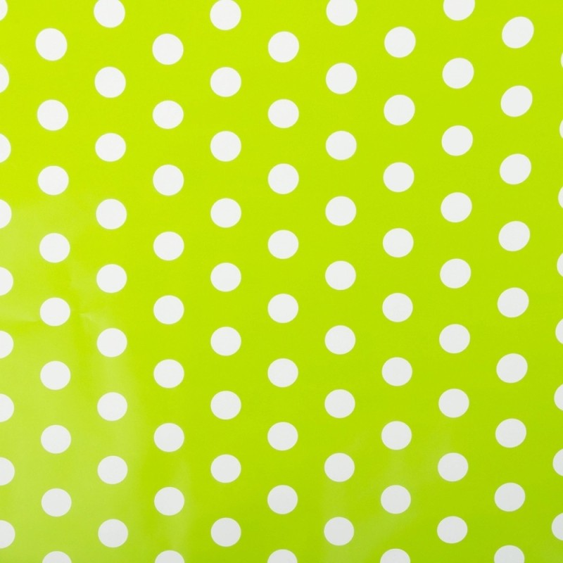Satyam Kraft polka dot gift wrapping paper polka dot, red polka dot, tags paper, thread Gift Wrapper(Green)
