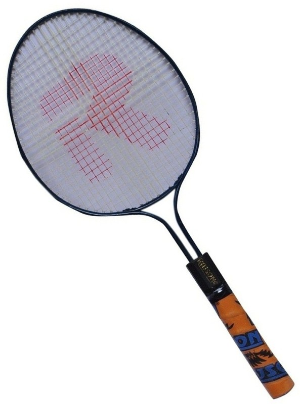 rajson Double Rod Small Size Badminton Racquet Pair For Kids 3 to 6 Years Multicolor Strung Badminton Racquet(G3 - 3.5 Inches, 350)