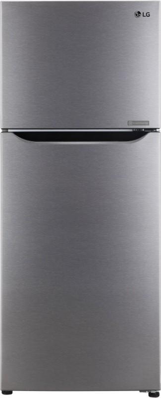 LG 260 L Frost Free Double Door 2 Star Refrigerator(Dazzle Steel, GL-N292KDSR)
