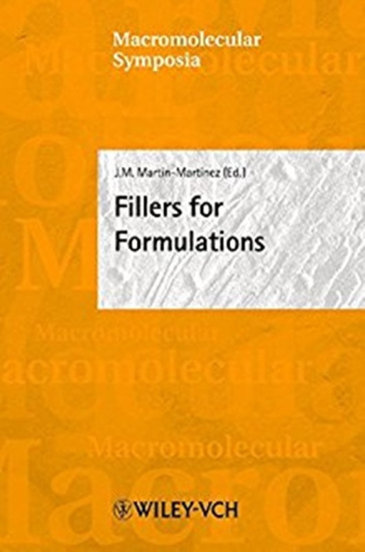 Fillers for Formulations, Alicante, Spain, September 8-11, 2003(English, Hardcover, unknown)