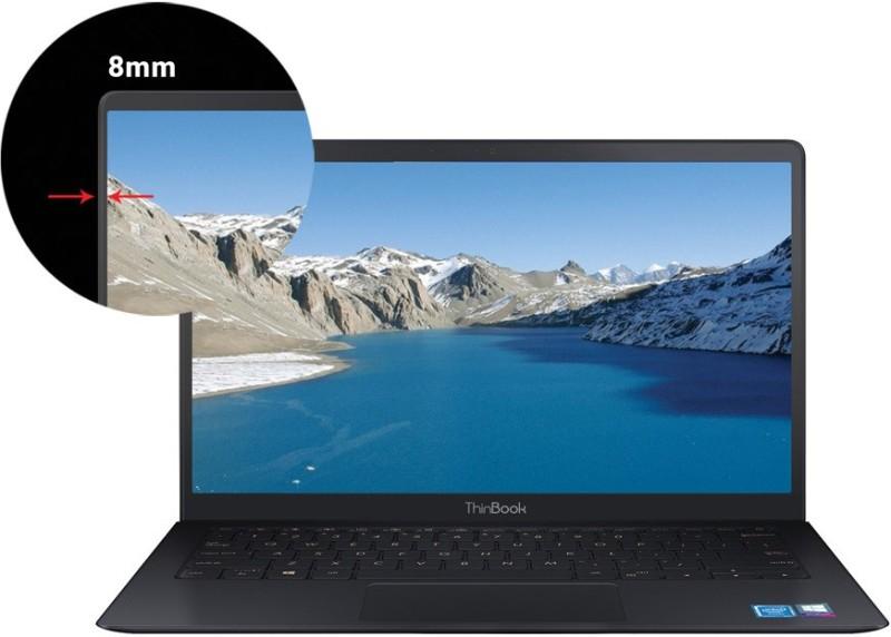 RDP ThinBook Atom Quad Core - (2 GB/32 GB EMMC Storage/Windows 10 Home) 1450-EC1 Thin and Light Laptop(14.1 inch, Black, 1.35 kg)