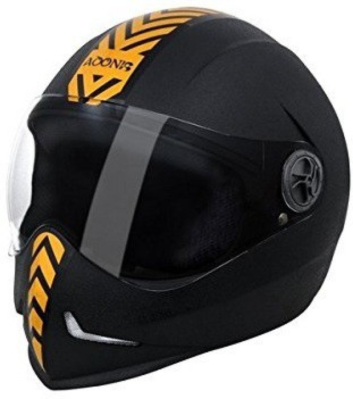 Steelbird Adonis Dashing Motorbike Helmet(Gold, Black)