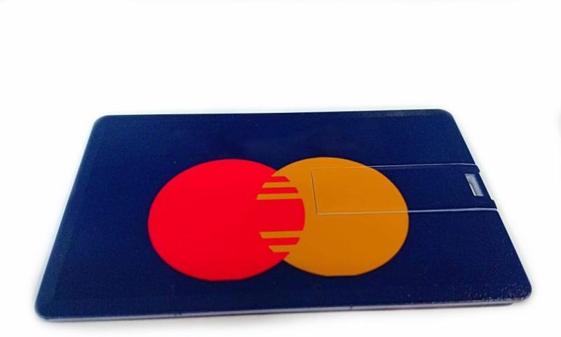 Tobo Novelty Credit Bank Card Shape Master Card USB 2.0 Flash Drive Pen Drive Memory Stick.(16GB) 16 Pen Drive(Purple)
