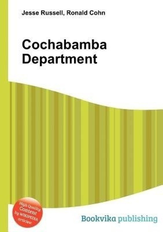 Cochabamba Department(English, Paperback, unknown)