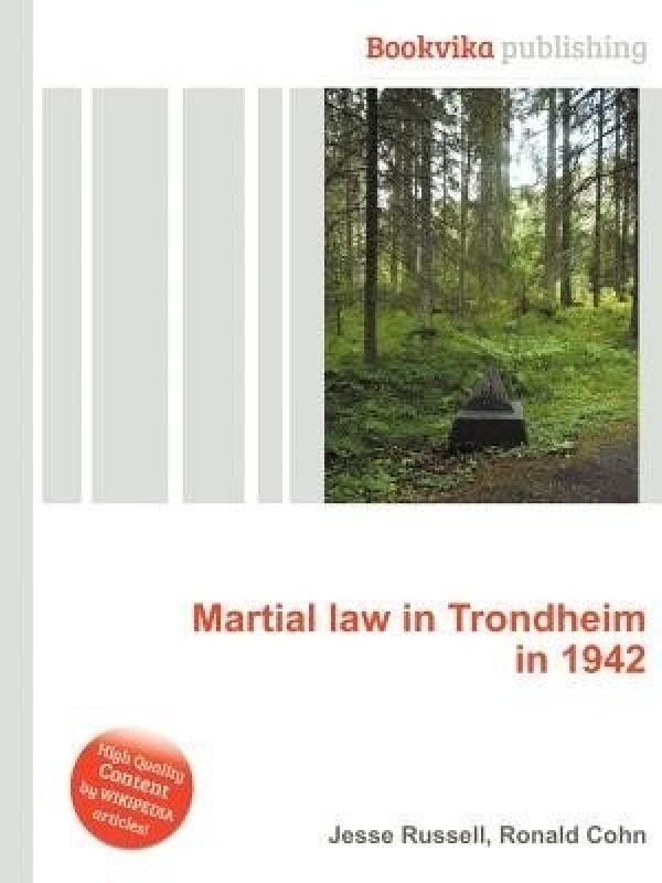 Martial Law in Trondheim in 1942(English, Paperback, unknown)