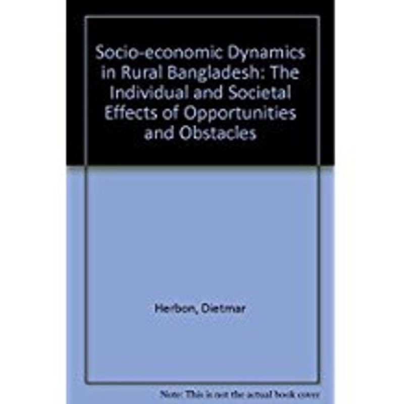 Socio-economic Dynamics in Rural Bangladesh(English, Hardcover, Herbon Dietmar)