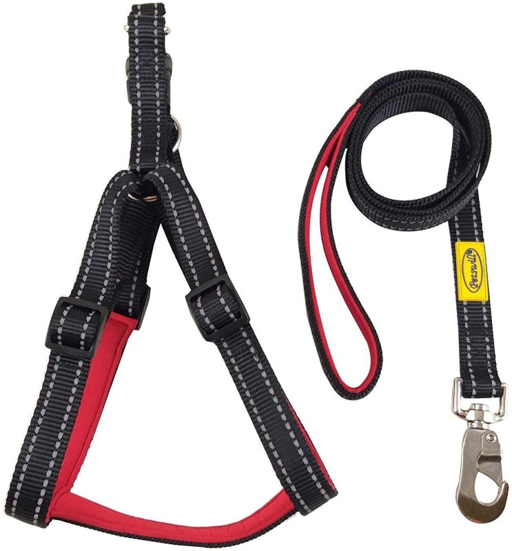 PETSWILL BLACK & RED ROPE LEASH Dog Jogger(BLACK & RED ROPE LEASH)