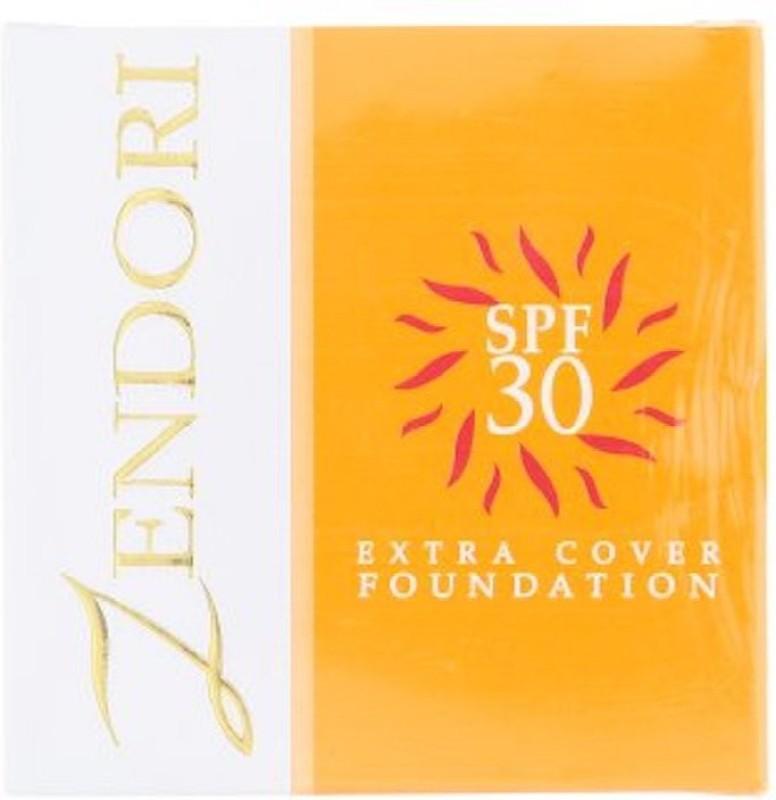 Zendori Extra Cover Foundation SPF30 (03) Foundation(3 colors for tan, 10 g)
