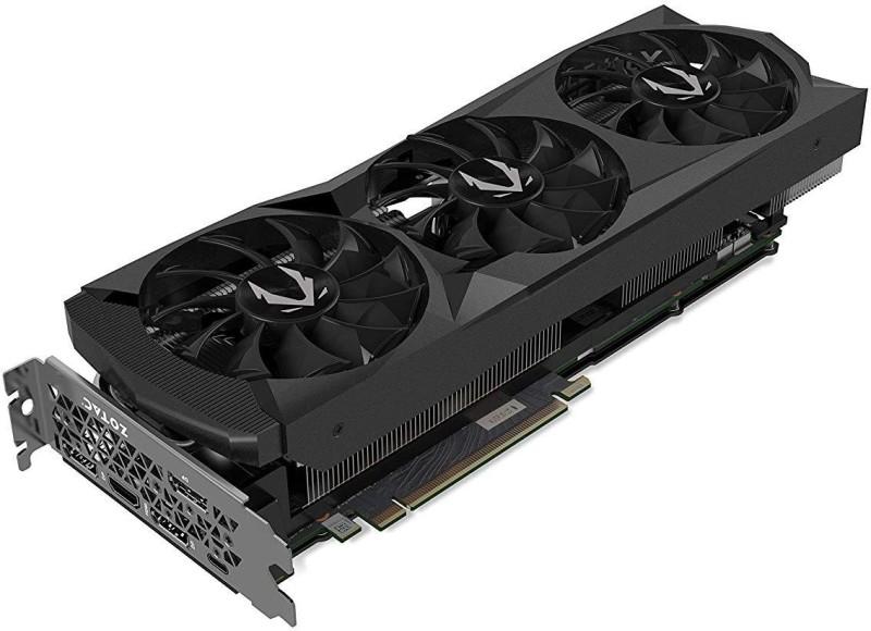 ZOTAC NVIDIA GeForce RTX 2080 AMP 8 GB GDDR5X Graphics Card(Black)
