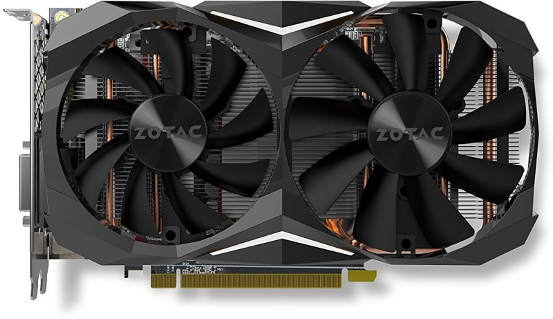ZOTAC NVIDIA GTX 1060 AMP Edition 6GB GDDR5 6 GB GDDR5 Graphics Card