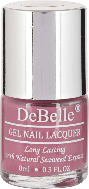 DeBelle Gel Nail Lacquer Light Majenta-Nail polish 8ml Laura Aura