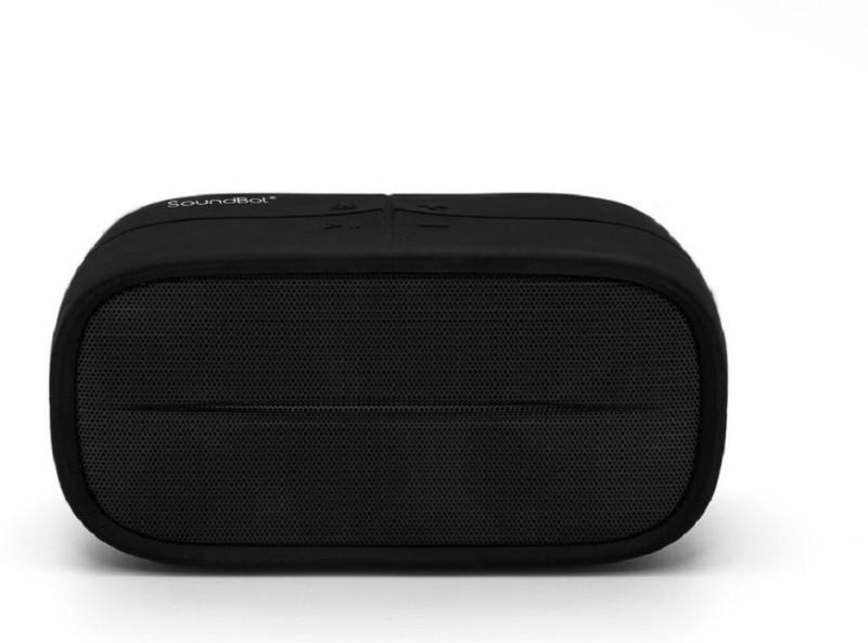 SoundBot SB572 5 W Bluetooth Speaker(Black, Stereo Channel)