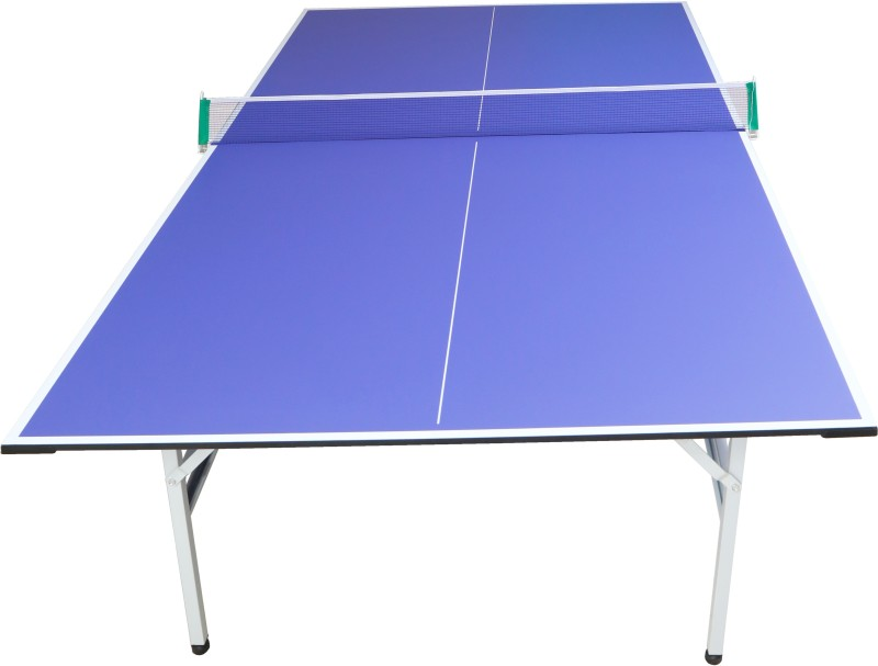 Dolphy Rollaway Indoor Table Tennis Table(Blue, White)