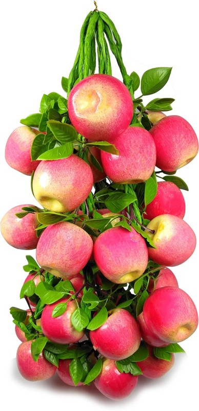 Crystu Artificial Apple for Decorate Kitchen Wall Hanging And Parties Restaurants Table Centerpiece Décor Pack of 1 pc Artificial Fruit(Set of 1)