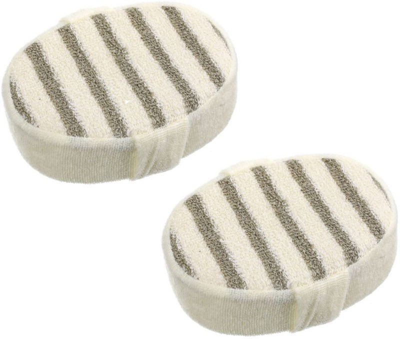 BOXO Set Of 2 Pcs Bath Sponge, Bath Sponge For Bathing, Bath Sponge For Baby, Pack Of 1
