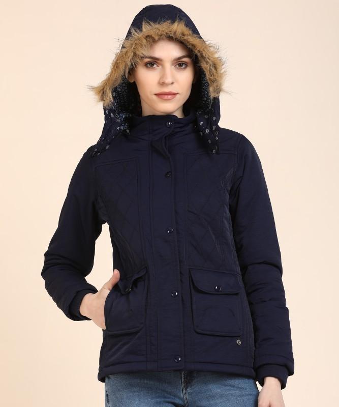 Monte Carlo Full Sleeve Solid Women Jacket