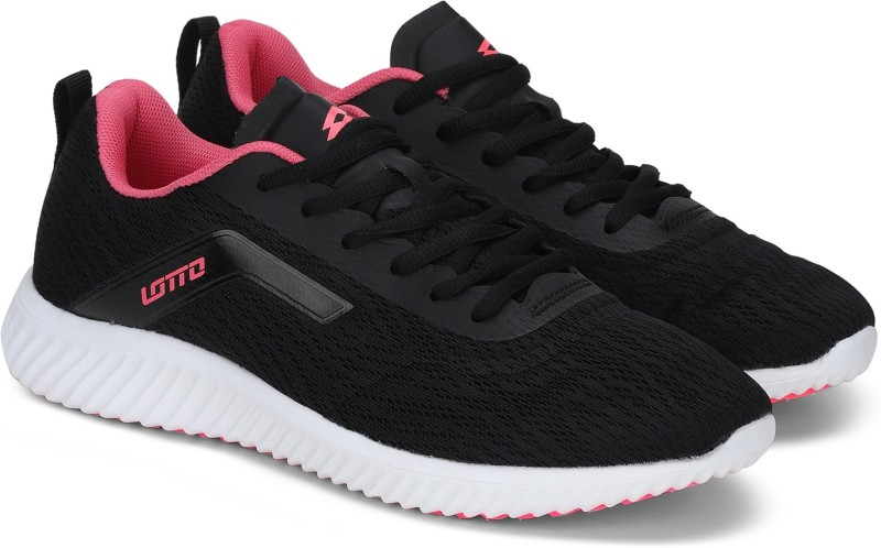 Lotto G-FORCE Running Shoes For Women(Black)